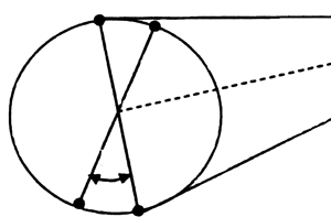 Scheme of ANI receiving by spaced antenna system