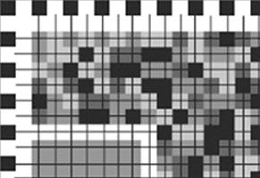 Multicolored graphic code