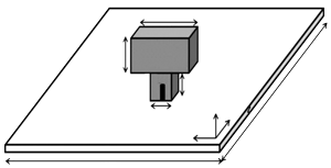 Geometry of dielectric antenna-3