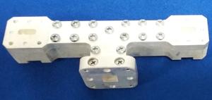 Fabricated septum polarizer for K-band based on optimum design