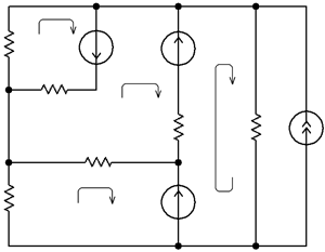 Equivalent circuit of class D amplifier taking into account parasitic parameters