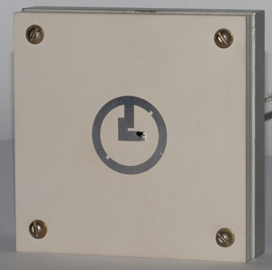 Annular ring microstrip radiator