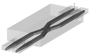 Directional coupling model