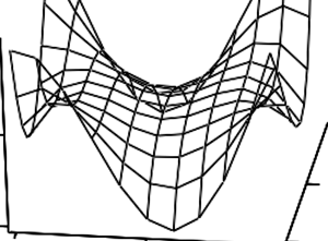 Spatial distribution for the amplitude of the alternating component of the Stokes vector at the output of a modulator
