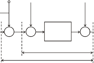 DWM transmission along with audio carrier signal