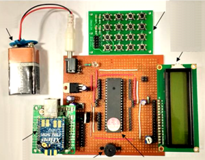 Components of paging unit